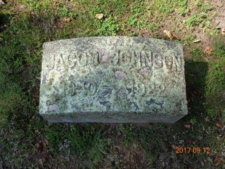 JOHNSON, JACOB - Marquette County, Michigan | JACOB JOHNSON - Michigan Gravestone Photos