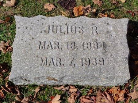 JOHNSON, JULIUS R. - Marquette County, Michigan   JULIUS R. JOHNSON - Michigan Gravestone Photos