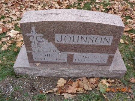 JOHNSON, CARL V.V. - Marquette County, Michigan | CARL V.V. JOHNSON - Michigan Gravestone Photos