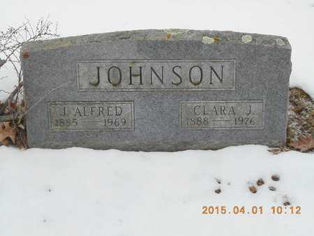 JOHNSON, CLARA J. - Marquette County, Michigan | CLARA J. JOHNSON - Michigan Gravestone Photos