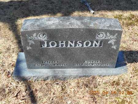 JOHNSON, ROSA MAY - Marquette County, Michigan   ROSA MAY JOHNSON - Michigan Gravestone Photos