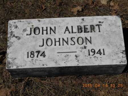JOHNSON, JOHN ALBERT - Marquette County, Michigan | JOHN ALBERT JOHNSON - Michigan Gravestone Photos