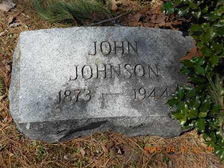 JOHNSON, JOHN - Marquette County, Michigan | JOHN JOHNSON - Michigan Gravestone Photos