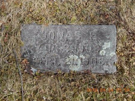 JOHNSON, JONAS EMIL - Marquette County, Michigan | JONAS EMIL JOHNSON - Michigan Gravestone Photos
