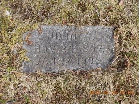 JOHNSON, JOHN C. - Marquette County, Michigan | JOHN C. JOHNSON - Michigan Gravestone Photos