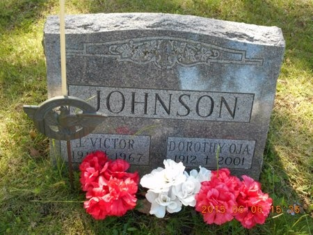 JOHNSON, JACOB VICTOR - Marquette County, Michigan | JACOB VICTOR JOHNSON - Michigan Gravestone Photos