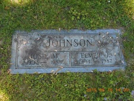 JOHNSON, JOSIE M. - Marquette County, Michigan | JOSIE M. JOHNSON - Michigan Gravestone Photos