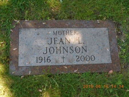 JOHNSON, JEAN L. - Marquette County, Michigan | JEAN L. JOHNSON - Michigan Gravestone Photos