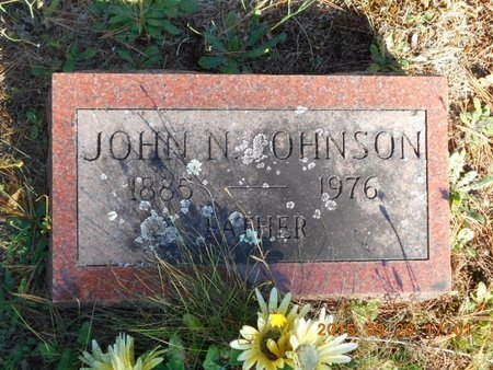 JOHNSON, JOHN N. - Marquette County, Michigan | JOHN N. JOHNSON - Michigan Gravestone Photos