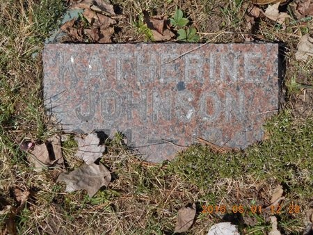 JOHNSON, KATHERINE - Marquette County, Michigan | KATHERINE JOHNSON - Michigan Gravestone Photos