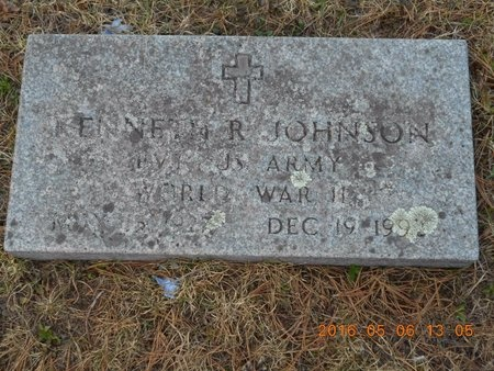 JOHNSON, KENNETH R. - Marquette County, Michigan | KENNETH R. JOHNSON - Michigan Gravestone Photos