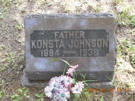 JOHNSON, KONSTA - Marquette County, Michigan   KONSTA JOHNSON - Michigan Gravestone Photos