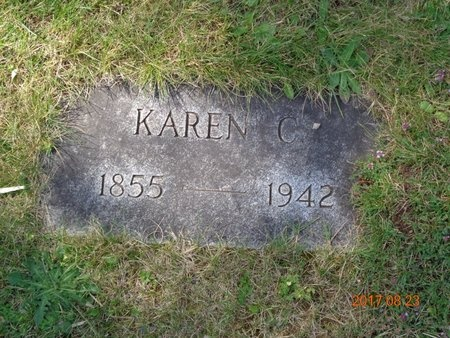 JOHNSON, KAREN C. - Marquette County, Michigan | KAREN C. JOHNSON - Michigan Gravestone Photos