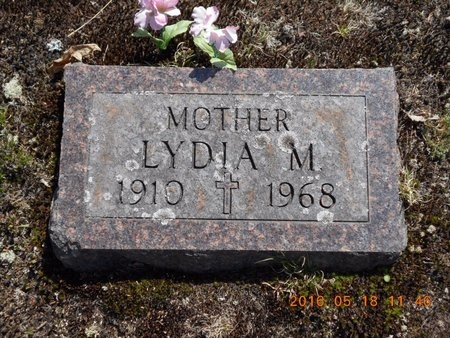 JOHNSON, LYDIA M. - Marquette County, Michigan | LYDIA M. JOHNSON - Michigan Gravestone Photos