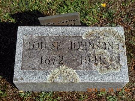 JOHNSON, LOUISE - Marquette County, Michigan | LOUISE JOHNSON - Michigan Gravestone Photos
