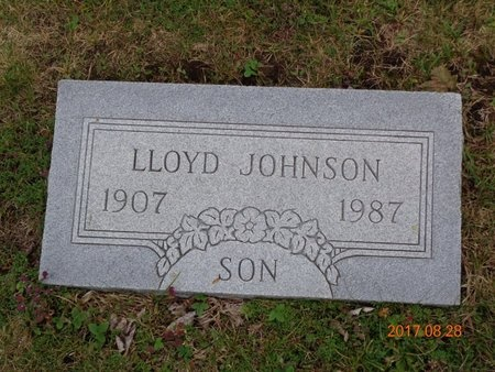 JOHNSON, LLOYD - Marquette County, Michigan | LLOYD JOHNSON - Michigan Gravestone Photos