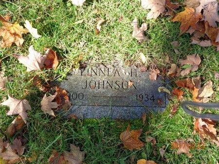 JOHNSON, LINNEA H. - Marquette County, Michigan | LINNEA H. JOHNSON - Michigan Gravestone Photos