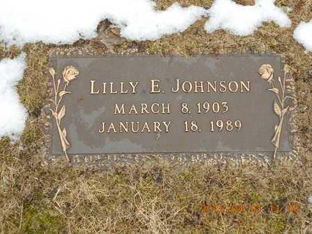 JOHNSON, LILLY E. - Marquette County, Michigan | LILLY E. JOHNSON - Michigan Gravestone Photos