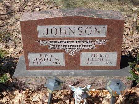 JOHNSON, HELMI E. - Marquette County, Michigan | HELMI E. JOHNSON - Michigan Gravestone Photos