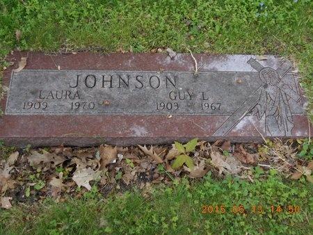 JOHNSON, GUY L. - Marquette County, Michigan | GUY L. JOHNSON - Michigan Gravestone Photos