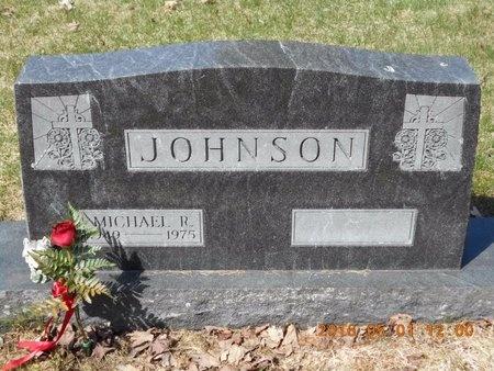 JOHNSON, MICHAEL R. - Marquette County, Michigan | MICHAEL R. JOHNSON - Michigan Gravestone Photos