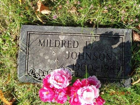JOHNSON, MILDRED E. - Marquette County, Michigan | MILDRED E. JOHNSON - Michigan Gravestone Photos