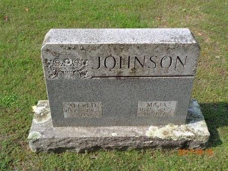 JOHNSON, MAJA - Marquette County, Michigan | MAJA JOHNSON - Michigan Gravestone Photos