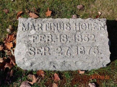 JOHNSON, MARTINUS HOLEN - Marquette County, Michigan   MARTINUS HOLEN JOHNSON - Michigan Gravestone Photos