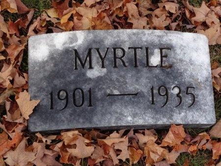 JOHNSON, MYRTLE - Marquette County, Michigan | MYRTLE JOHNSON - Michigan Gravestone Photos