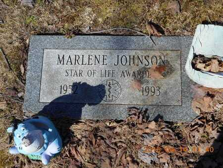 JOHNSON, MARLENE - Marquette County, Michigan | MARLENE JOHNSON - Michigan Gravestone Photos