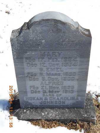 JOHNSON, MARY - Marquette County, Michigan | MARY JOHNSON - Michigan Gravestone Photos