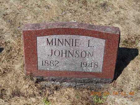 JOHNSON, MINNIE L. - Marquette County, Michigan | MINNIE L. JOHNSON - Michigan Gravestone Photos