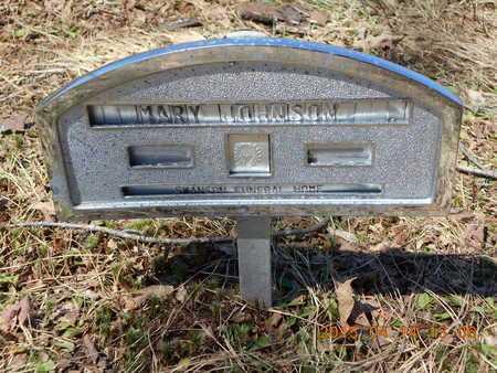 JOHNSON, MARY - Marquette County, Michigan | MARY JOHNSON - Michigan Gravestone Photos
