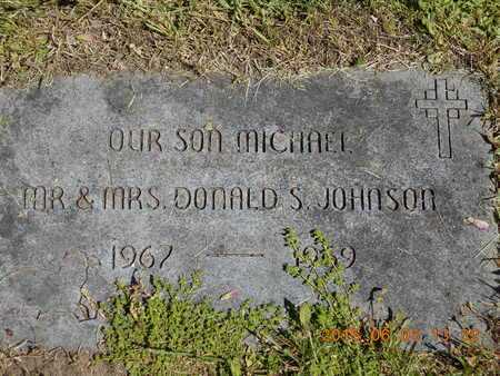 JOHNSON, MICHAEL - Marquette County, Michigan | MICHAEL JOHNSON - Michigan Gravestone Photos