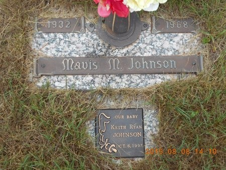 JOHNSON, MAVIS M. - Marquette County, Michigan | MAVIS M. JOHNSON - Michigan Gravestone Photos