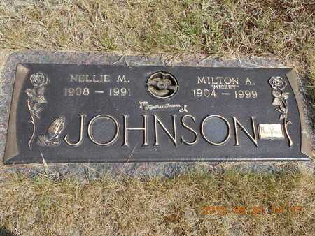 JOHNSON, MILTON A. - Marquette County, Michigan | MILTON A. JOHNSON - Michigan Gravestone Photos