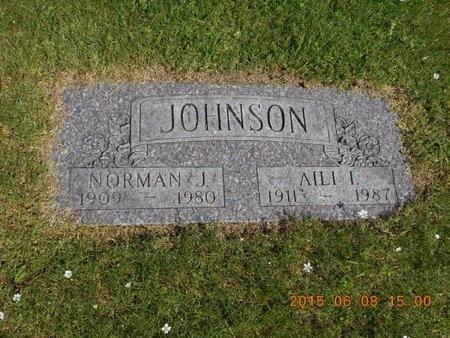 JOHNSON, AILI I. - Marquette County, Michigan | AILI I. JOHNSON - Michigan Gravestone Photos