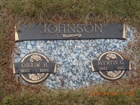 JOHNSON, ORRIN H. - Marquette County, Michigan | ORRIN H. JOHNSON - Michigan Gravestone Photos