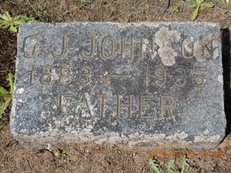 JOHNSON, OSCAR JULIUS - Marquette County, Michigan   OSCAR JULIUS JOHNSON - Michigan Gravestone Photos
