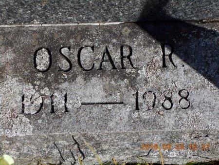 JOHNSON, OSCAR R. - Marquette County, Michigan   OSCAR R. JOHNSON - Michigan Gravestone Photos