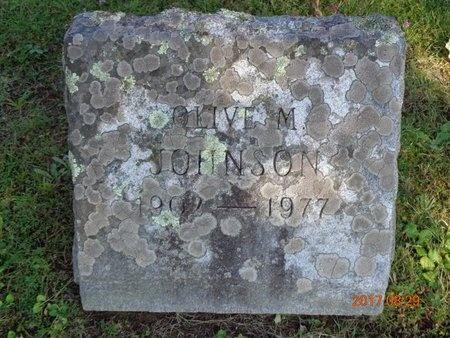 JOHNSON, OLIVE M. - Marquette County, Michigan | OLIVE M. JOHNSON - Michigan Gravestone Photos
