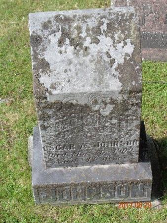 JOHNSON, OSCAR A. - Marquette County, Michigan | OSCAR A. JOHNSON - Michigan Gravestone Photos