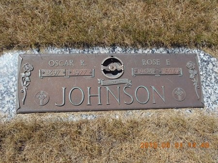 JOHNSON, ROSE E. - Marquette County, Michigan | ROSE E. JOHNSON - Michigan Gravestone Photos