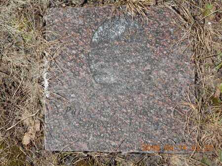 "JOHNSON, PAUL ""PJ"" - Marquette County, Michigan | PAUL ""PJ"" JOHNSON - Michigan Gravestone Photos"