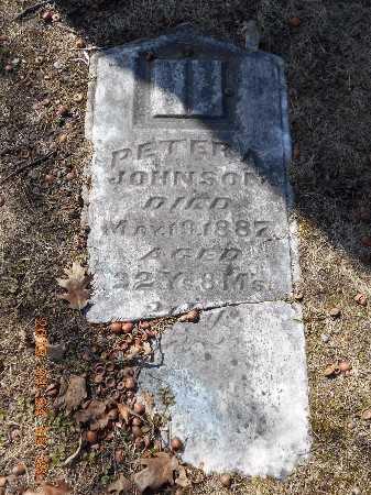 JOHNSON, PETER A. - Marquette County, Michigan | PETER A. JOHNSON - Michigan Gravestone Photos
