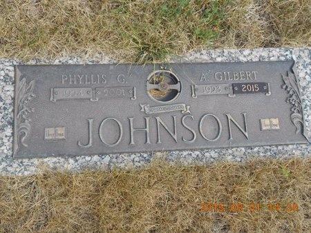 JOHNSON, A. GILBERT - Marquette County, Michigan | A. GILBERT JOHNSON - Michigan Gravestone Photos