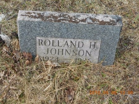 JOHNSON, ROLLAND H. - Marquette County, Michigan | ROLLAND H. JOHNSON - Michigan Gravestone Photos
