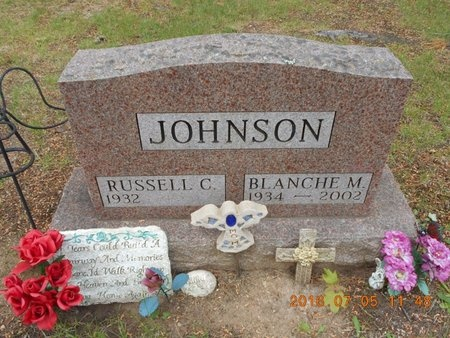 JOHNSON, RUSSELL C. - Marquette County, Michigan | RUSSELL C. JOHNSON - Michigan Gravestone Photos