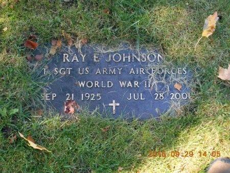 JOHNSON, RAY E. - Marquette County, Michigan | RAY E. JOHNSON - Michigan Gravestone Photos