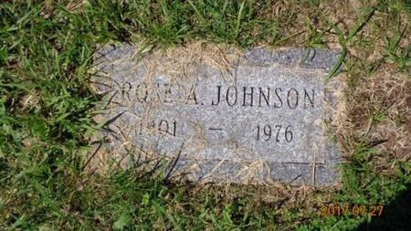 JOHNSON, ROSE A. - Marquette County, Michigan | ROSE A. JOHNSON - Michigan Gravestone Photos
